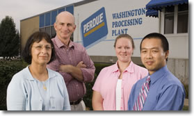 Regina Becker and Pang Du work with Perdue Farms, Inc. to save money.