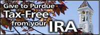 Give to Purdue tax-free from your IRA