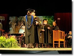 Statistics Ph.D. Graduate Student, Dauchang Cao, receives her degree in May 2004