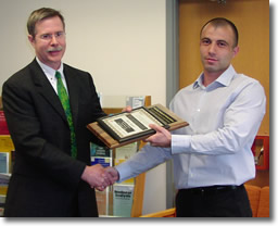 2006 winner of the Outstanding Teaching by a Teaching Assistant Award - Dimitar Vangelov