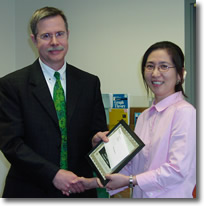 2006 Assistant Professor Undergraduate Teaching Award - Seongjoo Song