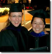 Dr. Hongmei Jiang and Professor Rebecca Doerge